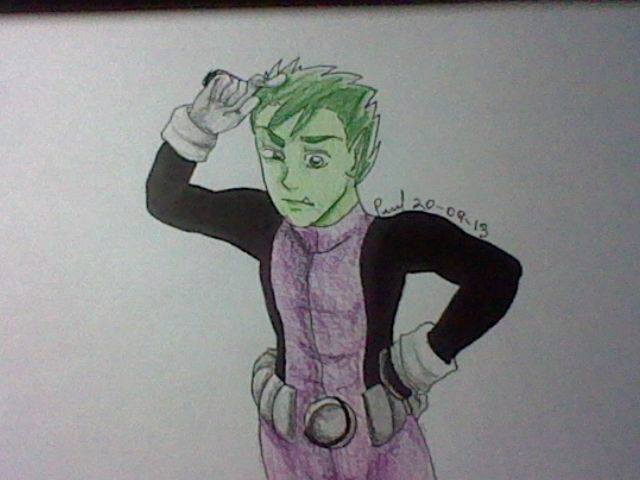 Beast Boy: Teen Titans by crazymoiraillegiance