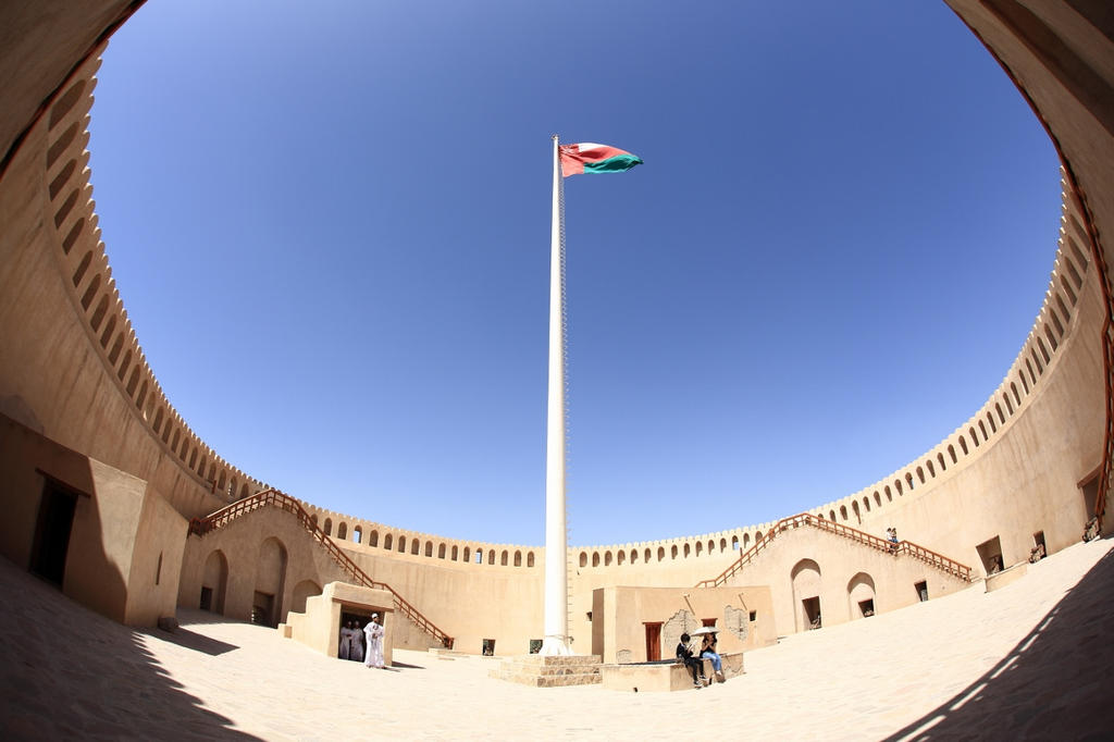 Round Fort by MAK-Photographi
