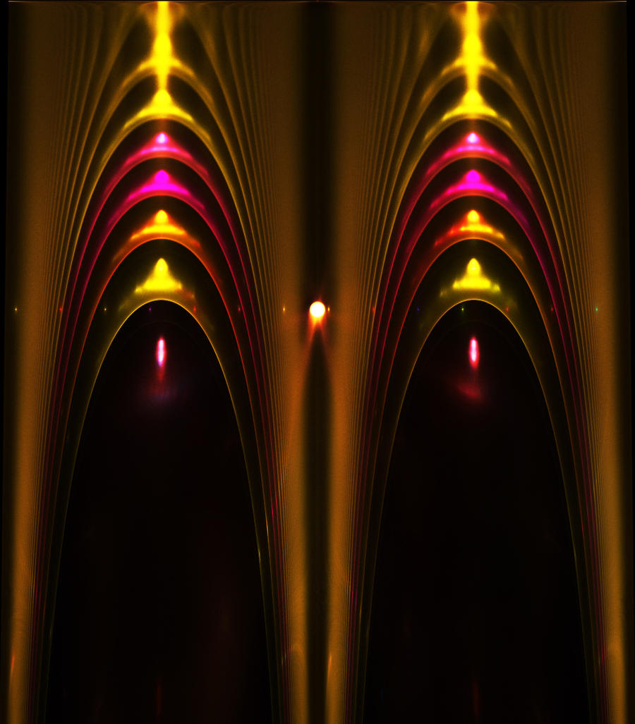 golden curtain... by FeliFee