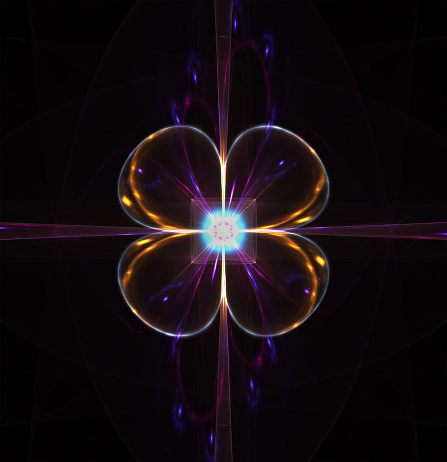 electric cloverleaf... by FeliFee