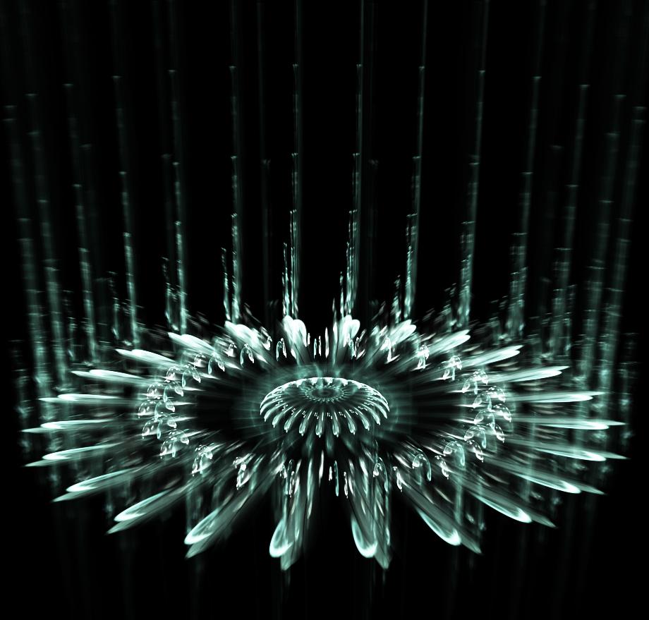 falling ice crystal.... by FeliFee