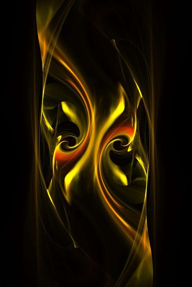 smooth golden cascade... by FeliFee