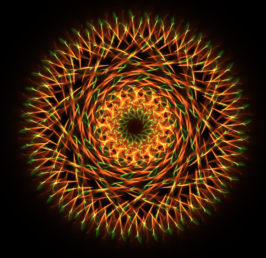 firework wheel... by FeliFee