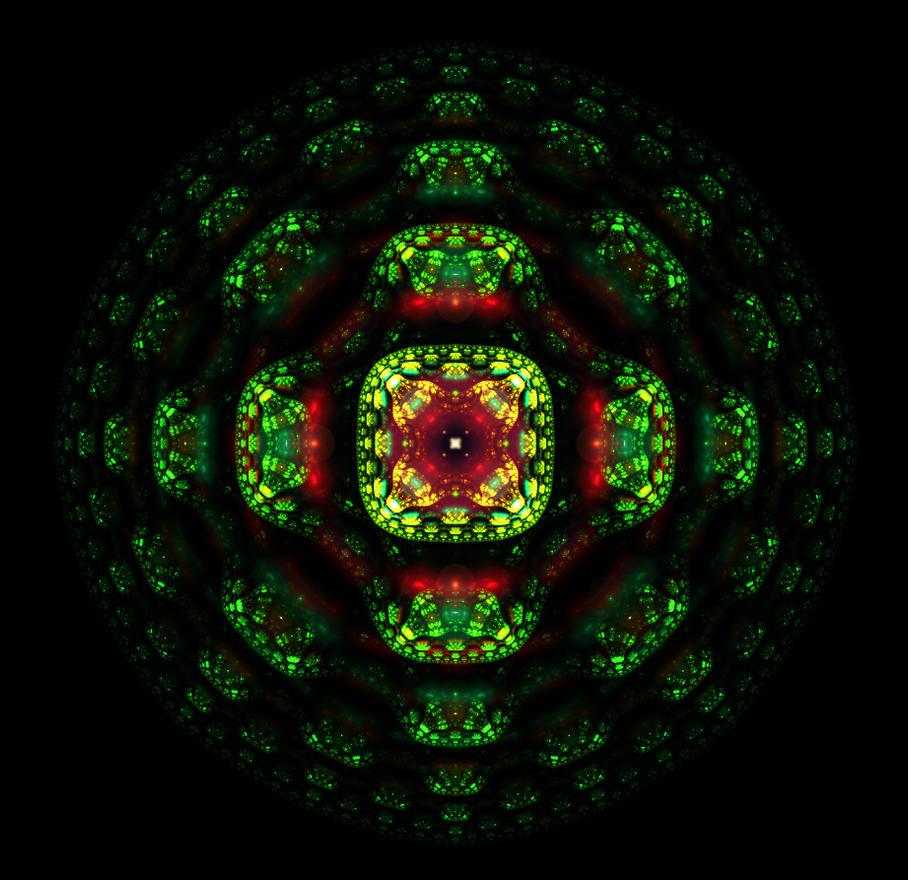 green blossom ball... by FeliFee