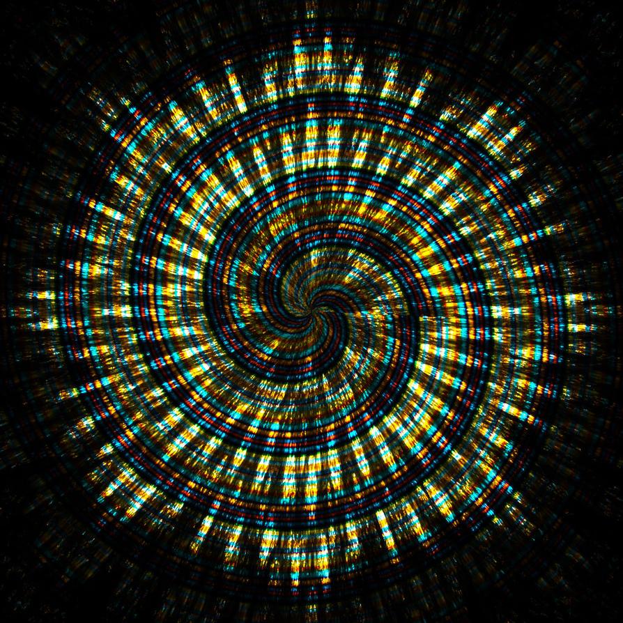 woven metallic wheel... by FeliFee