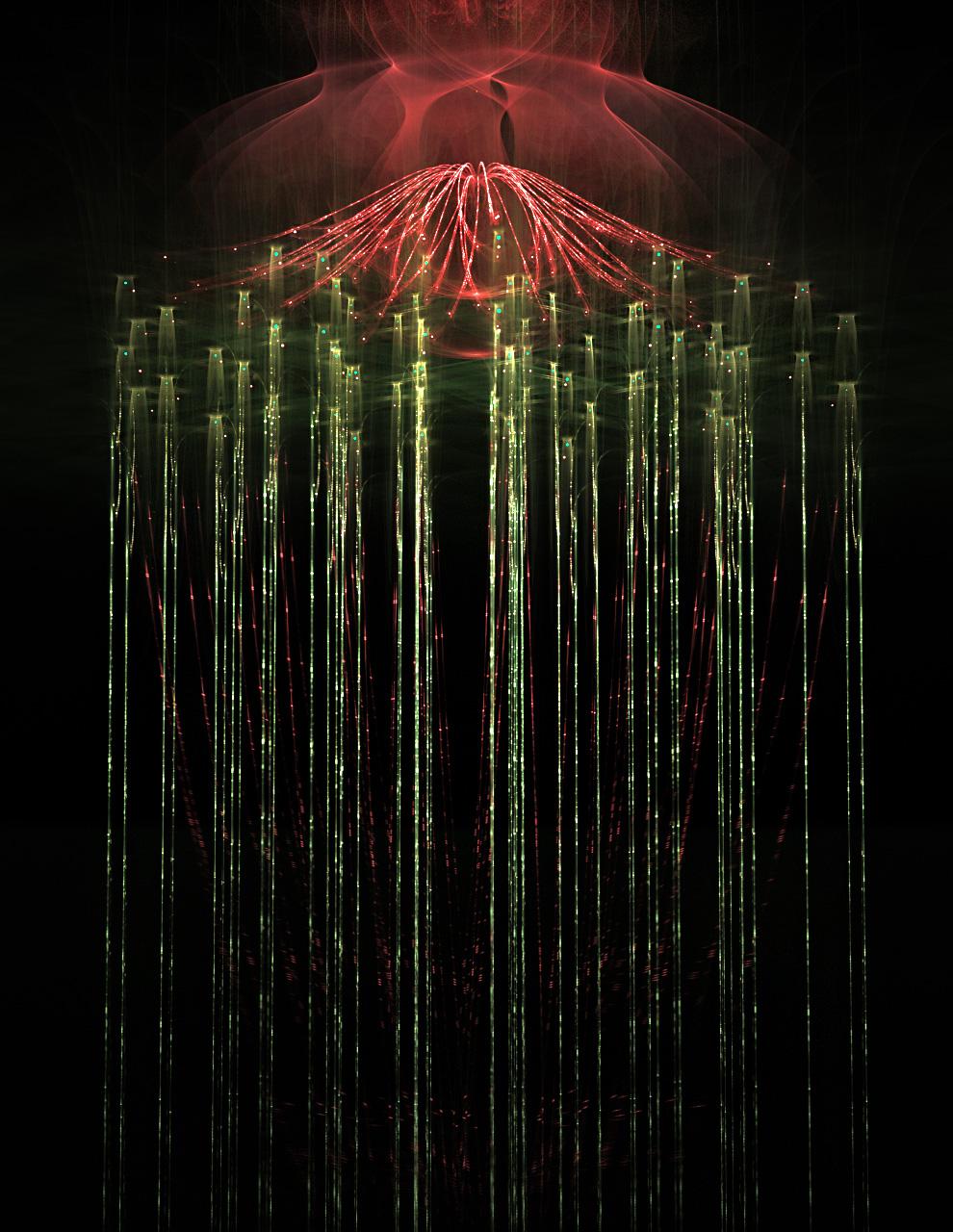 sparkling curtain... by FeliFee
