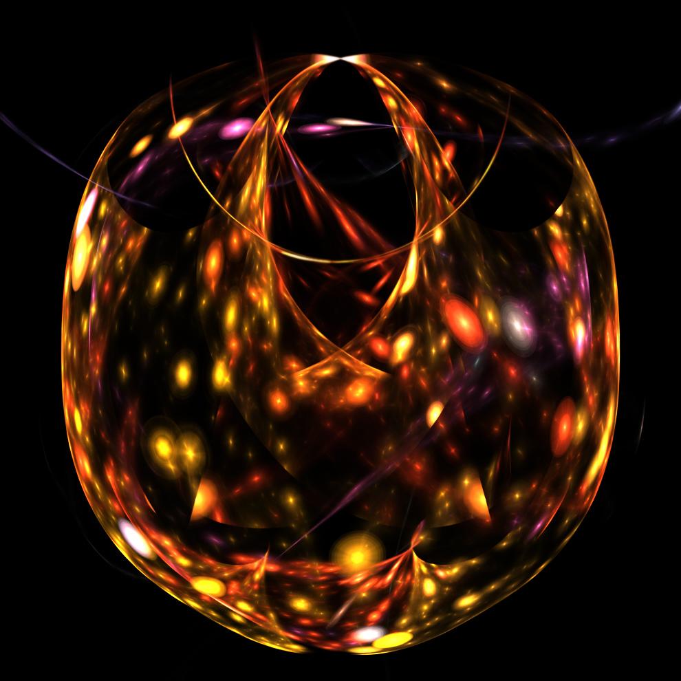 crystal glass bowl... by FeliFee