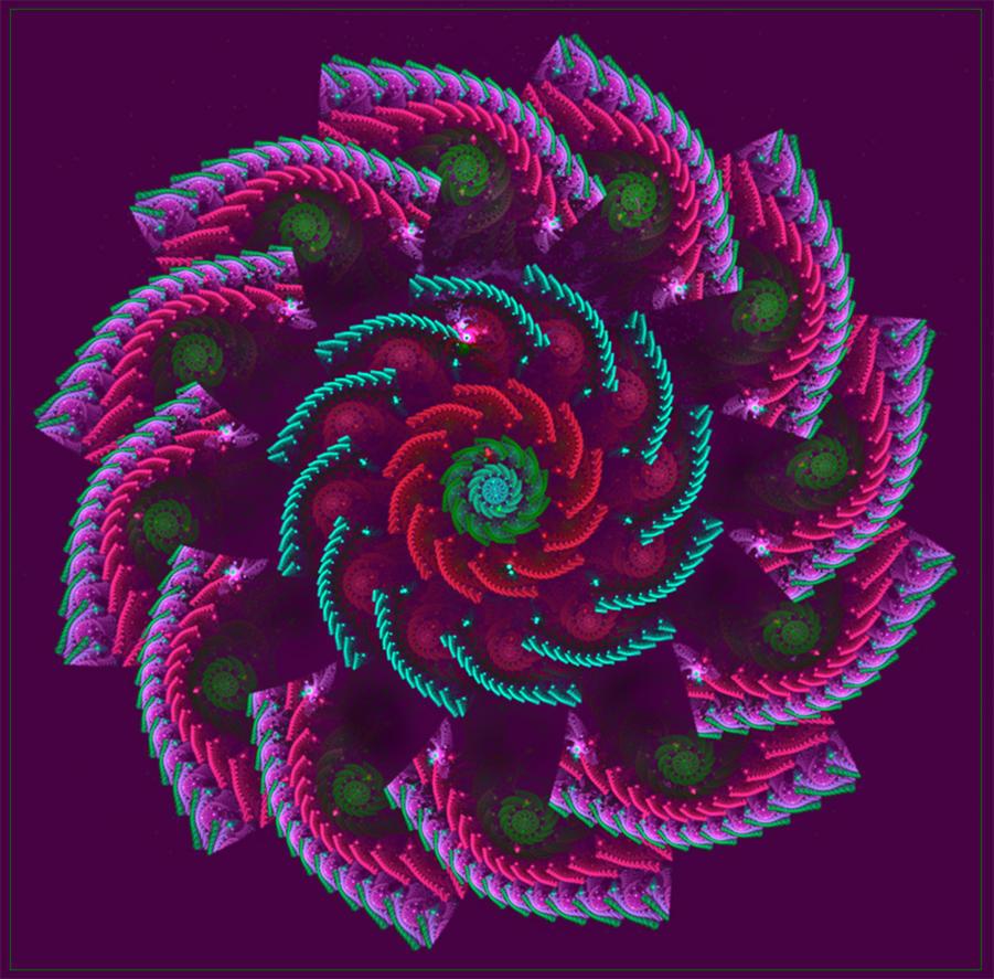 crocheted bloom... by FeliFee