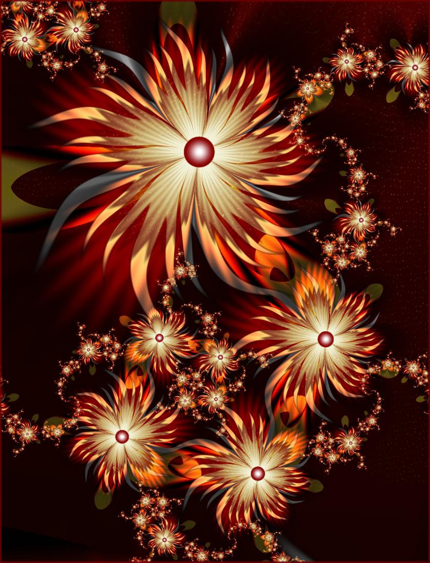 happy flowers of fall... by FeliFee