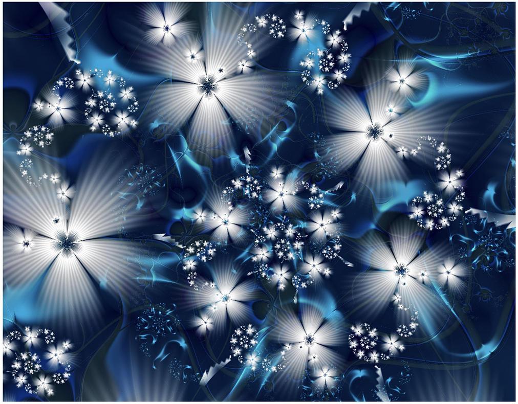 Iceflowers... by FeliFee