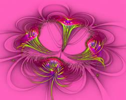 Velvet Trumpet Flower...