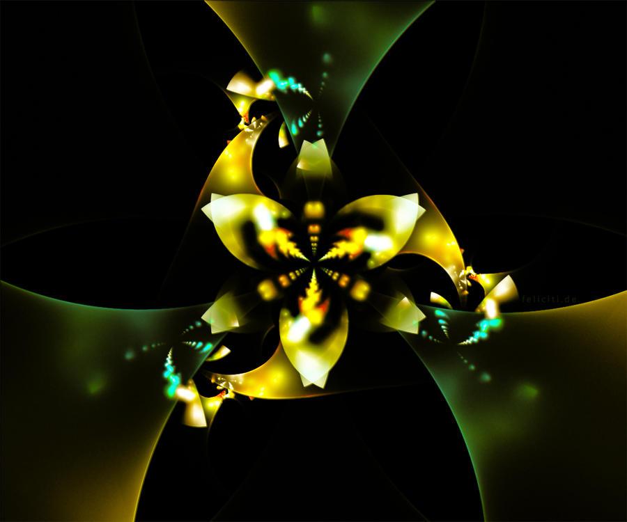 Metallic Flower...