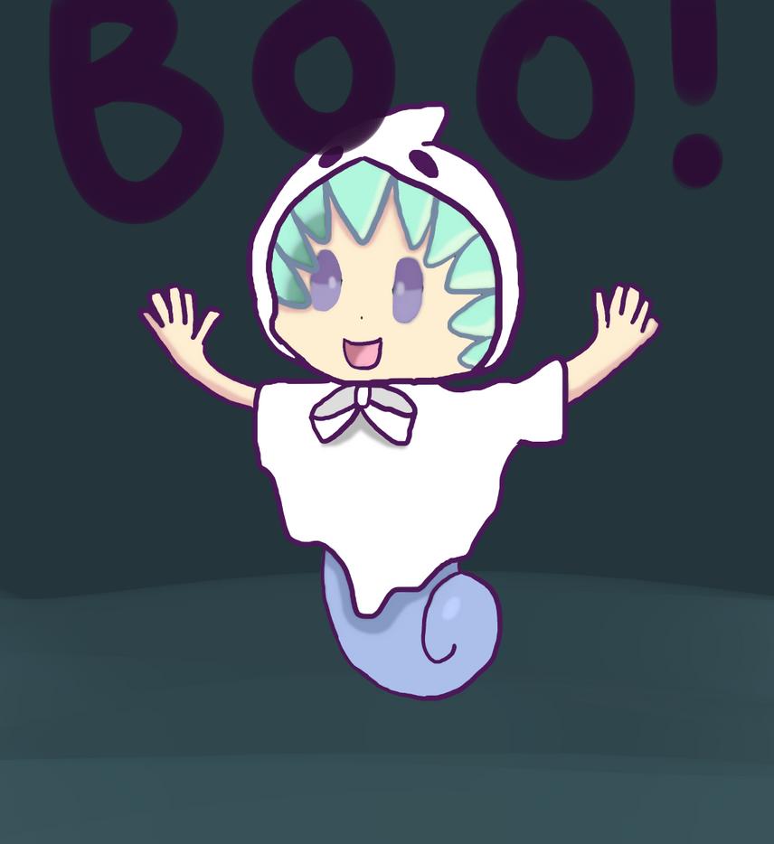 Boo! by Bladethesnivy