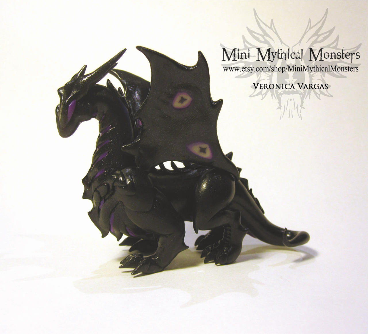 how to make a dragon out of polymer clay