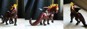Phoenix Horse Dragon