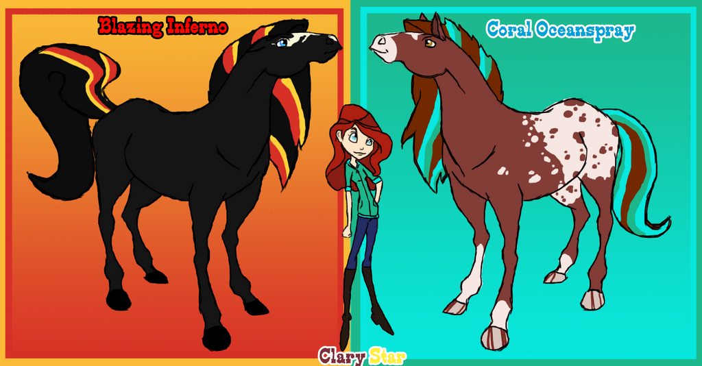 Horseland Ocs By Selenethewerewolf On Deviantart