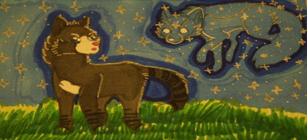 O-S | Badgerpaw | Born to Make History by SeleneTheWerewolf