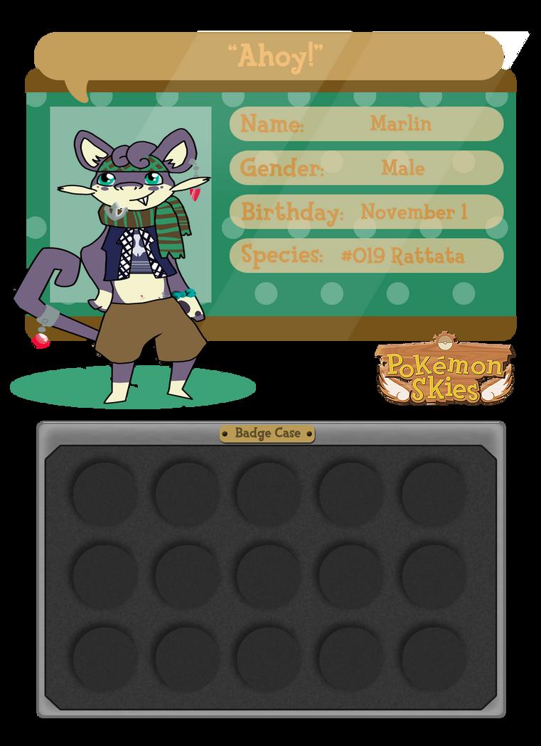:PKMN-SKIES: Marlin ID by SeleneTheWerewolf