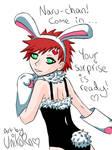 Bunny Boy Gaara - color