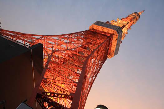 Tokyo Tower at Sunset