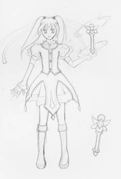 Kaoru - magical girl