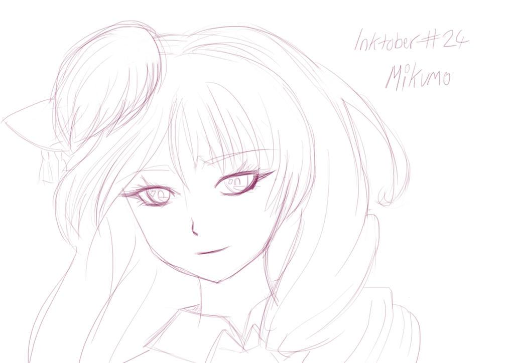 inktober 24 - Mikumo by unikorn