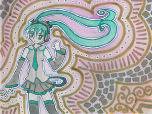 Hatsune Miku and Patterns