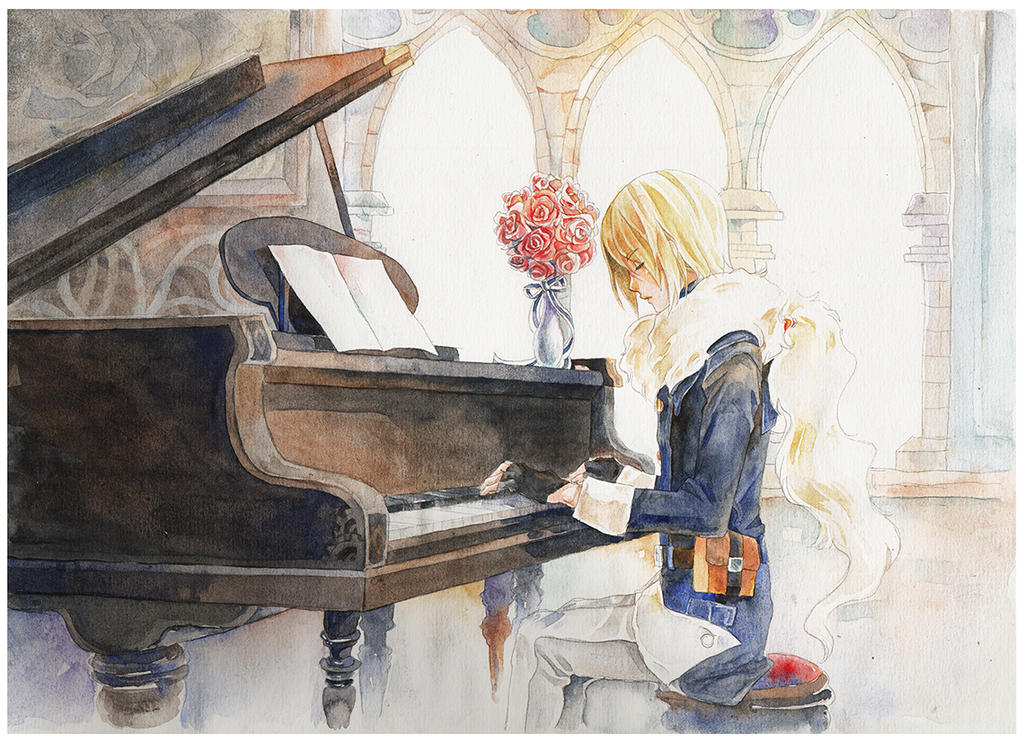 Sonata for Celia by meomeongungu