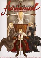 Uni Work- Fullmetal Alchemist Poster by darkness333