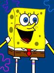 Spongebob- MS Paint