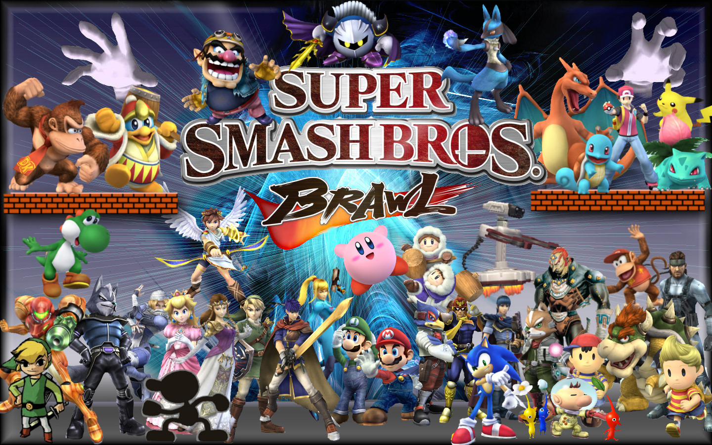 Fuentes de Información - Super smash bros brawl (Wallpapers)