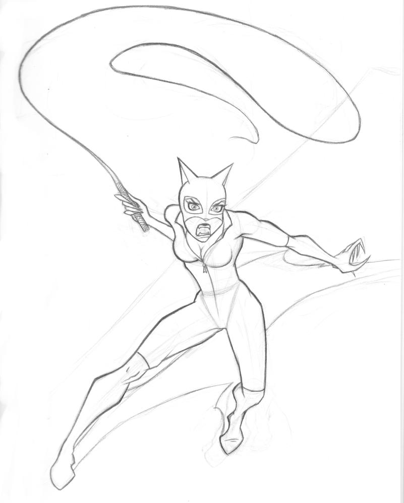 catwoman by ragingbarbarian on deviantart on catwoman coloring book