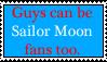 Sailor Moon Stamp Guy Fans by dA-Police-J