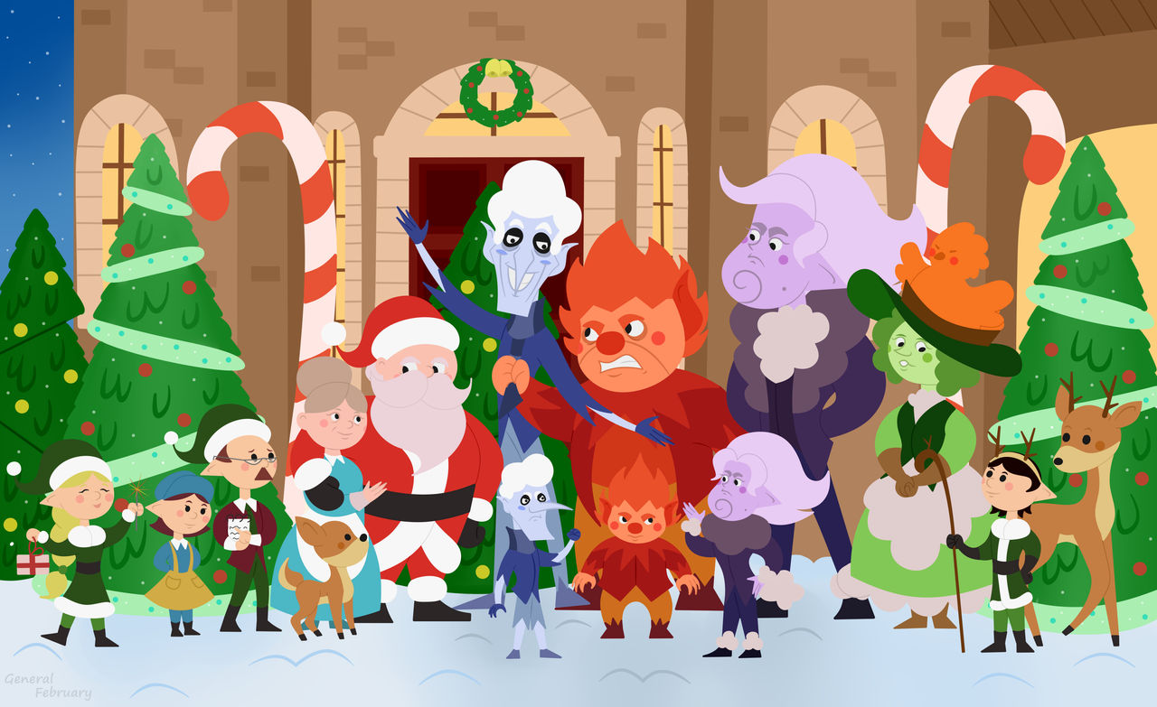 A Miser Brothers Christmas 2021 A Miser Brothers Christmas Group Photo By General February On Deviantart