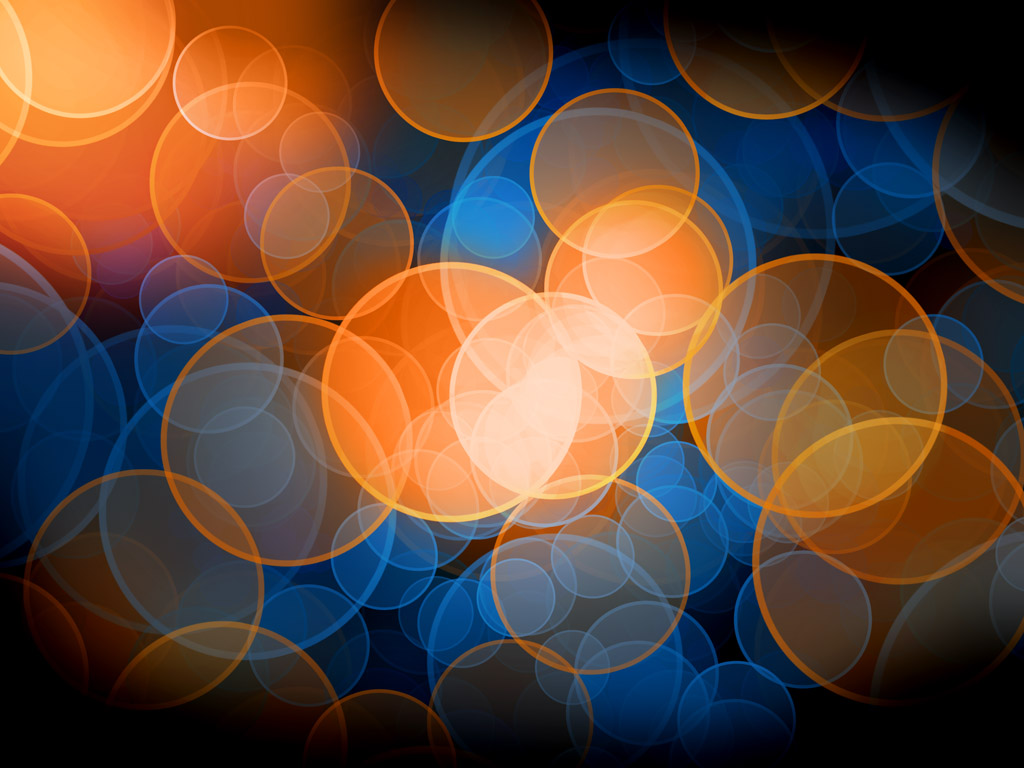 Blue And Orange Background: Blue And Orange Blue And Orange Bokeh By Prince Charmless
