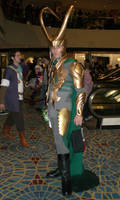 Loki at DragonCon 2