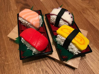 Sushi Cakelets 1 by ninja2of8