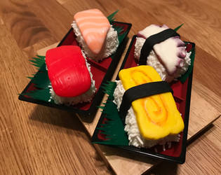 Sushi Cakelets 2 by ninja2of8