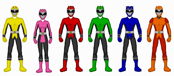 Comission - Power Rangers Birds? by Kaiserf11