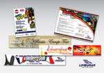 Limbunan Tour Banner and Flyer