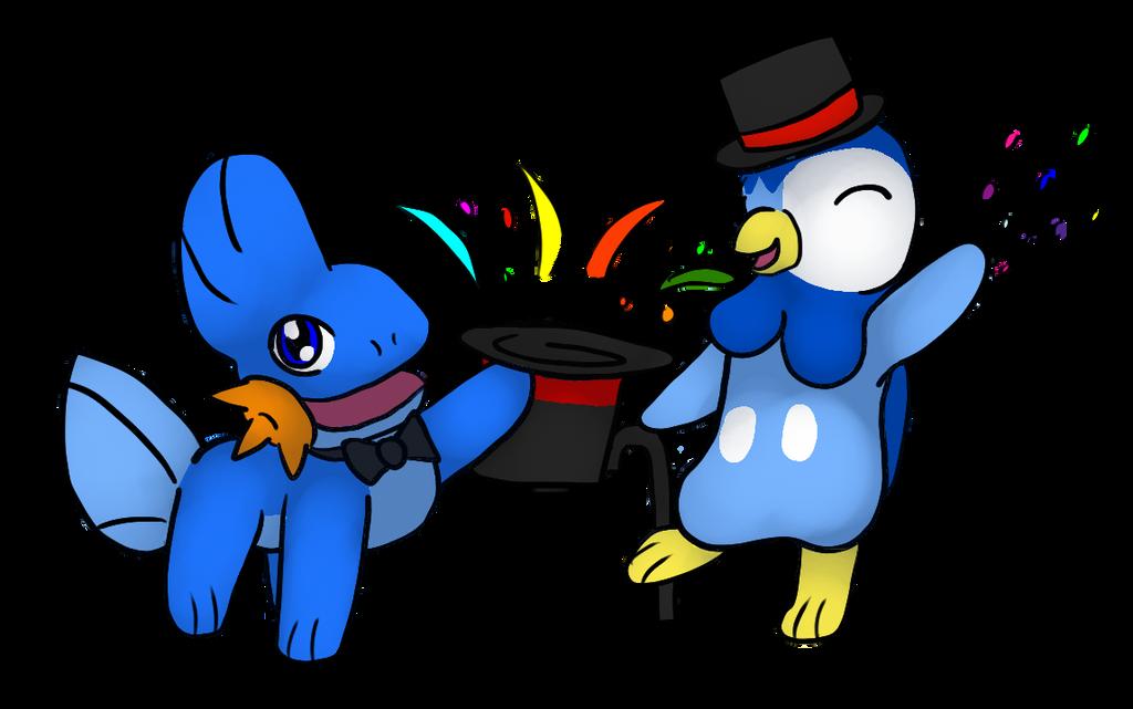 Happy Pokemons by TheBrushFox