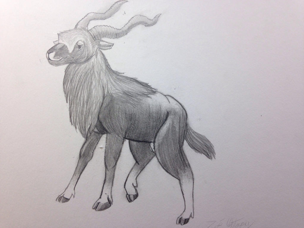 Some goat I guess ? by TheBrushFox