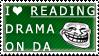 Reading Drama Stamp by ShadowXEyenoom