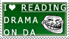 Reading Drama Stamp by ShadowXEyenoom