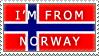 .:RQ:. Norway Stamp by ShadowXEyenoom
