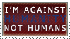Against Humanity Stamp by ShadowXEyenoom