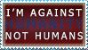 Against Humanity Stamp by ShadowXEyenoom