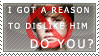 Dislike JB for a reason Stamp by ShadowXEyenoom