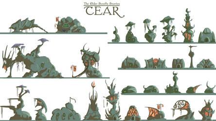TES - Tear - building concepts 02 by noxfoxArts