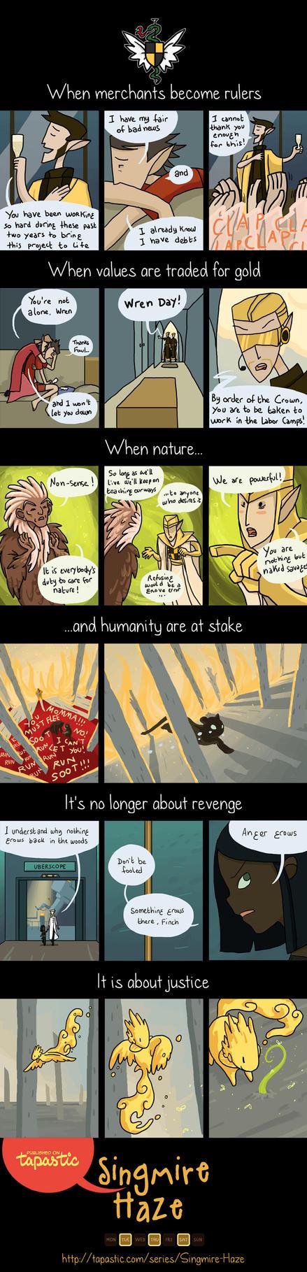 Singmire Haze - Comics Teaser by Izz-noxfox